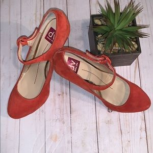 Dv Dolce Vita Red High Heels Size 10